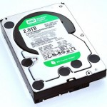 A typical hard drive