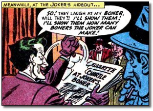 Joker's boners