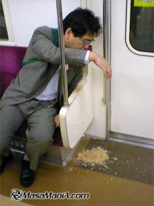 drink japanese businessman